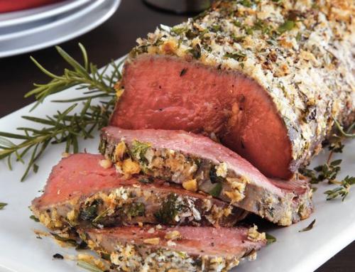 Herb-Crusted Beef Tenderloin